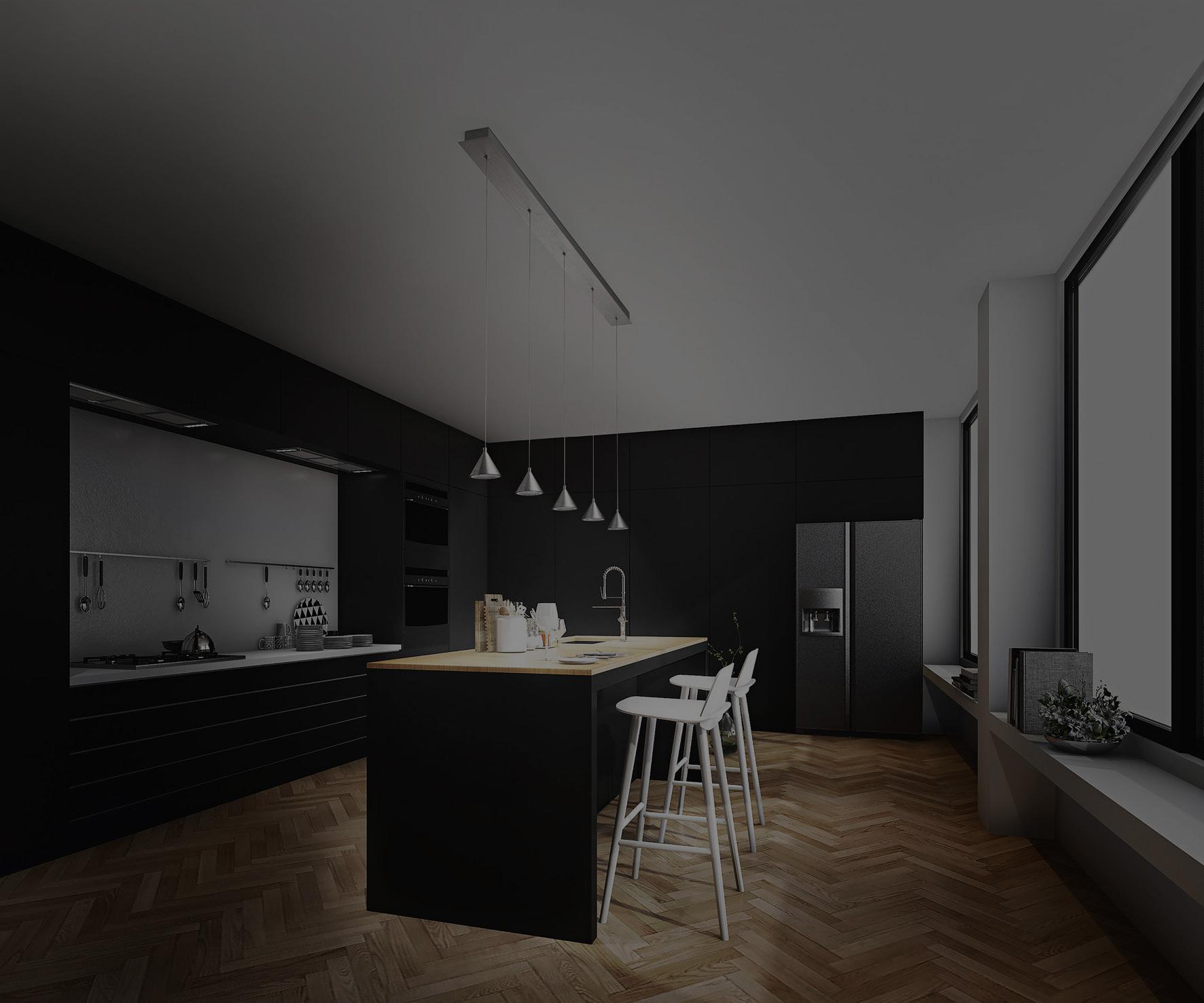 cucina-lampada-a-sospensione-fonda-lampadari